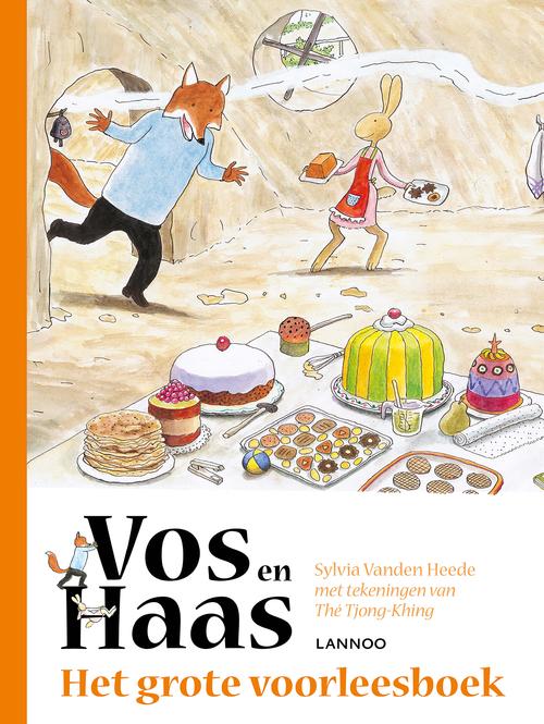 Het grote voorleesboek van Vos en Haas, Sylvia Vanden Heede | 9789401434768  | Boek - bruna.nl